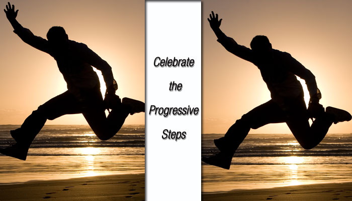Celebrate the Progressive Steps